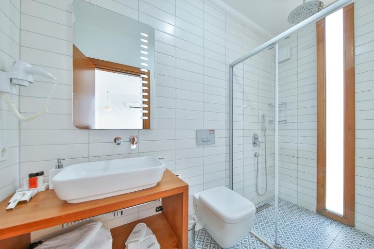 Twin Room, Bathroom